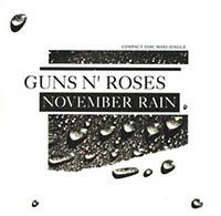 NOVEMBER RAIN, GUNS 'N' ROSES