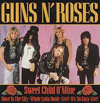 SWEET CHILD O' MINE, GUNS N'ROSES